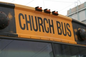 church-bus
