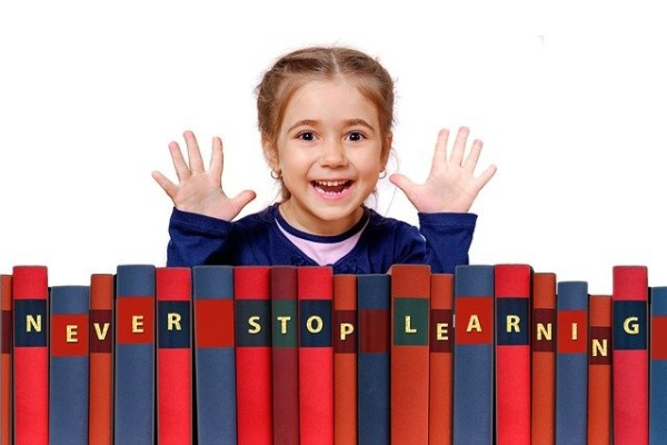 child learning